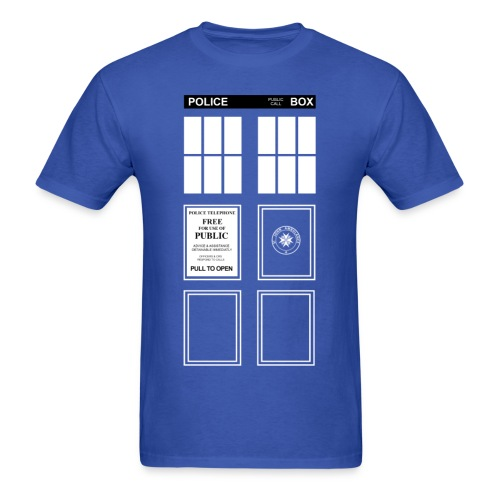 Doctor Who TARDIS - Men's T-Shirt