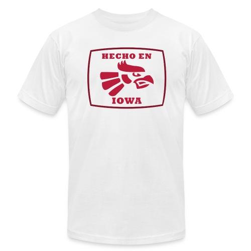 Hecho En Iowa St. - Cardinal - Men's Fine Jersey T-Shirt