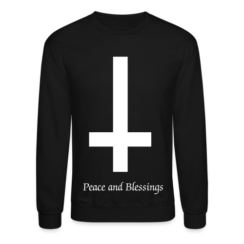 Peace and Blessings Crewneck - Crewneck Sweatshirt