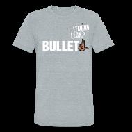 T-Shirts ~ Unisex Tri-Blend T-Shirt ~ Men Leaning Leon t-shirt