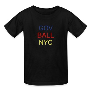 Kids 2013 GOV BALL NYC - Kids' T-Shirt