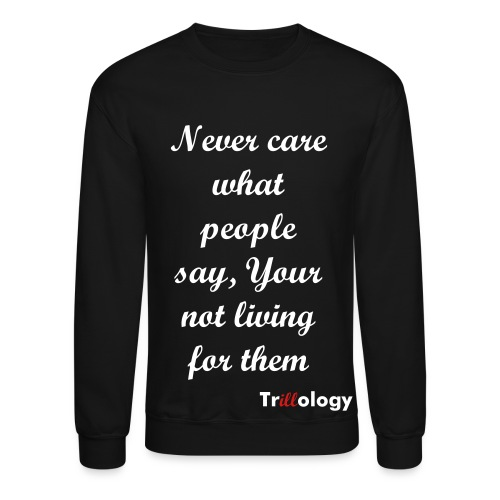 Trillology Yourself Men's Sweater - Crewneck Sweatshirt