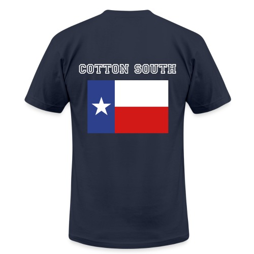 Cotton South- Texas - Men's Fine Jersey T-Shirt