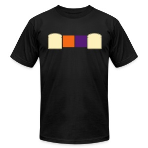 PBJ shirt by @CoolFelix for MEN - Men's T-Shirt by American Apparel