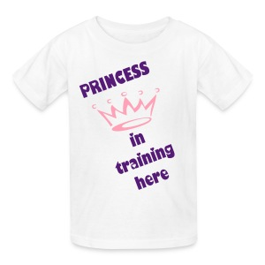 PRINCESS IN TRAINING TEE - Kids' T-Shirt