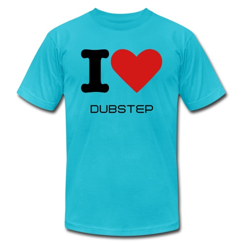 dubstep rocks! - Men's Fine Jersey T-Shirt