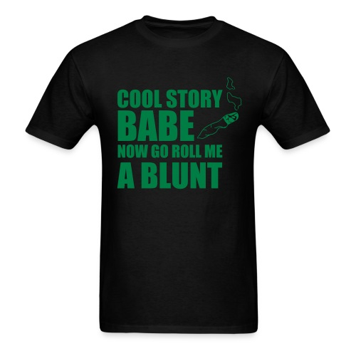 Roll Me A Blunt - Men's T-Shirt