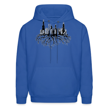 New Chicago Skyline Roots Chicago Hoody  Hoodies