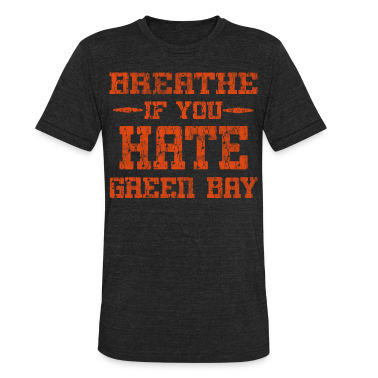 Breathe If You Dislike Green Bay Chicago Hoody  T-