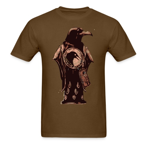 Murder of crows bottle - Men's T-Shirt