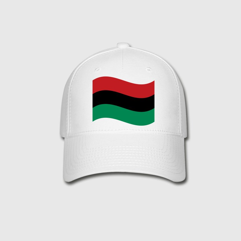 Red, Black & Green Flag Caps - Baseball Cap