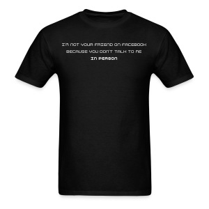 Facebook Friends - Men's T-Shirt
