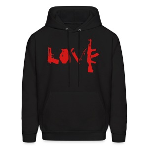 Rebel Love - Men's Hoodie