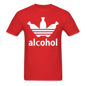 Alcohol R/W - Men's T-Shirt