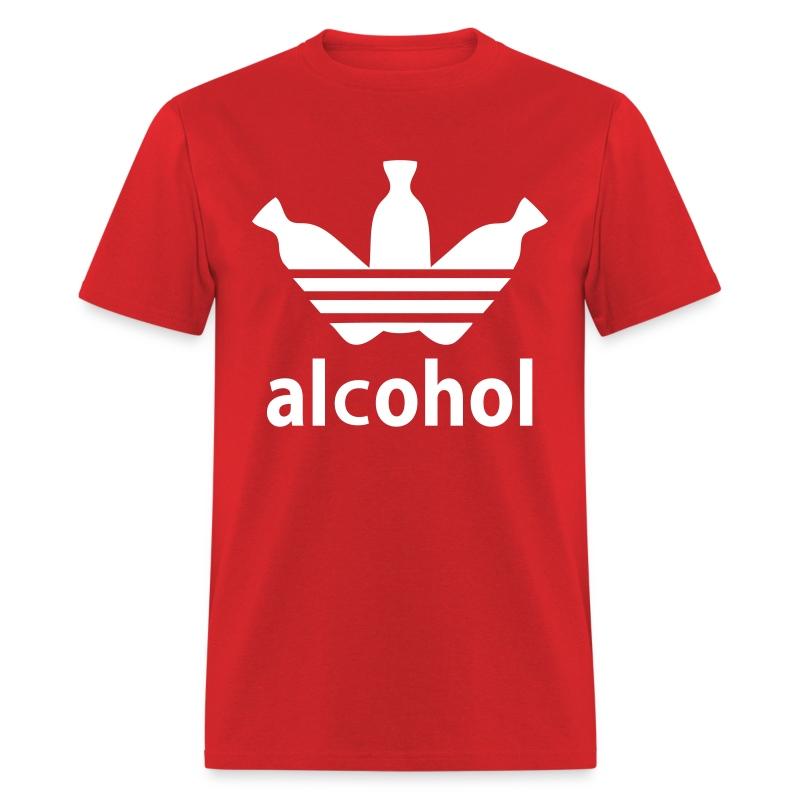 Alcohol R/W - Men's T-Shirt