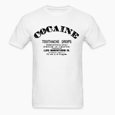 Cocaine - Toothache Drops  T-Shirts