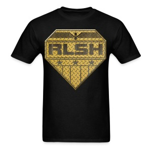 Hardcore RLSH Badge Adult T-Shirt - Men's T-Shirt