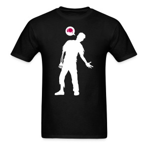 Zombie Thoughts - Men's T-Shirt