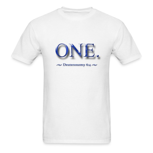 One-11x14.png - Men's T-Shirt