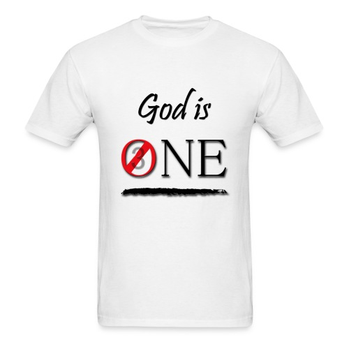 God-Is-One-11x14.png - Men's T-Shirt