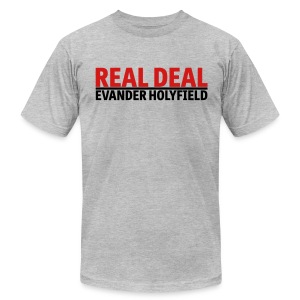 Real Deal Evander Holyfield - Men's Fine Jersey T-Shirt
