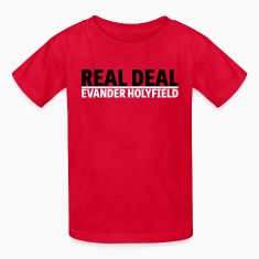 Real Deal Evander Holyfield mp Kids' Shirts