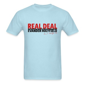 Real Deal signature Evander Holyfield - Men's T-Shirt