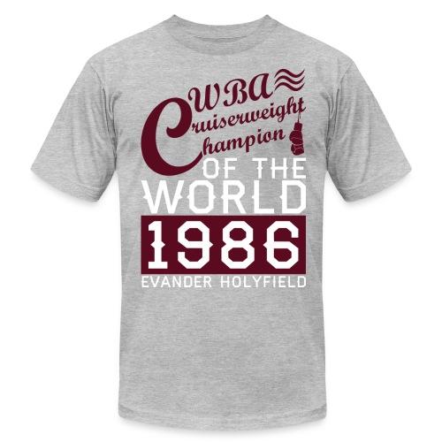 Cruiserweight Evander Holyfield - Men's Fine Jersey T-Shirt