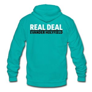 Real Deal Evander Holyfield - Unisex Fleece Zip Hoodie