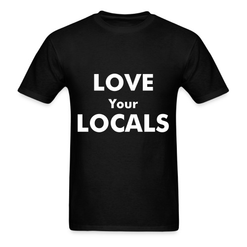 Love Your Locals Men's Tee - Men's T-Shirt