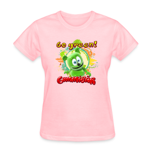 Gummibär Go Green Earth Day Women's T-Shirt - Women's T-Shirt