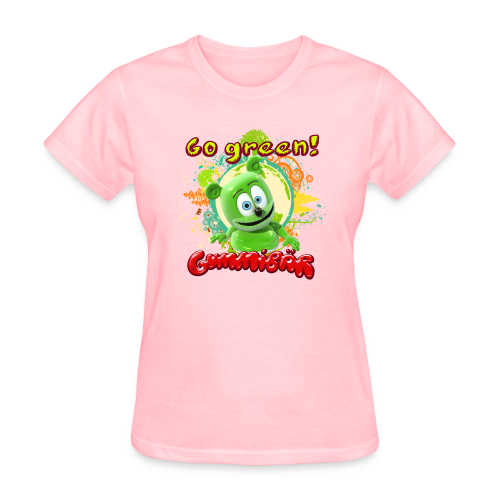 Gummibär (The Gummy Bear) Go Green Earth Day Women's T-Shirt - Women's T-Shirt