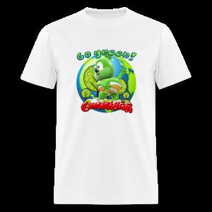 Gummibär (The Gummy Bear) Go Green Earth Day Men's T-Shirt - Men's T-Shirt