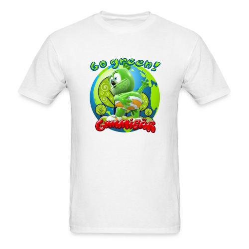 Gummibär (The Gummy Bear) Go Green Earth Day Men's T-Shirt - Men's T-Shirt