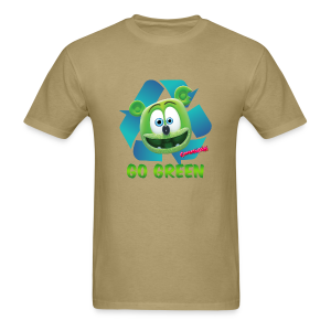 Gummibär Recycle Earth Day Men's T-Shirt - Men's T-Shirt