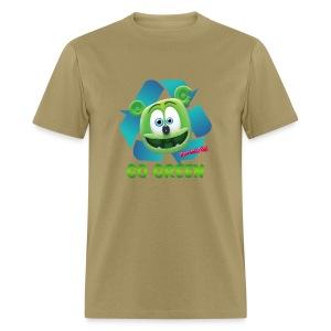 Gummibär (The Gummy Bear) Recycle Earth Day Men's T-Shirt - Men's T-Shirt
