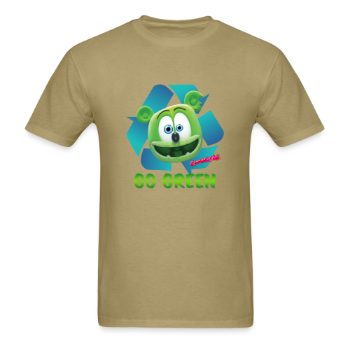 Gummibär (The Gummy Bear) Recycle Earth Day Men's T-Shirt - Men's T-Shirt