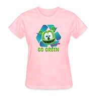 Women's T-Shirts ~ Women's T-Shirt ~ Gummibär Recycle Earth Day Women's T-Shirt