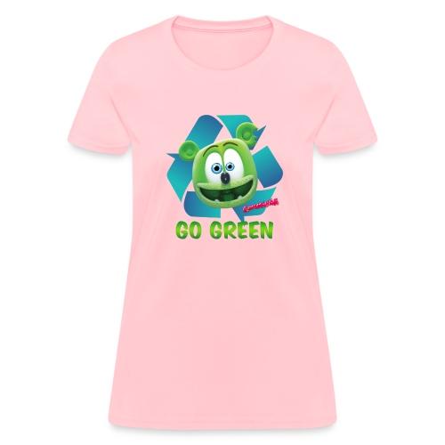 Gummibär (The Gummy Bear) Recycle Earth Day Women's T-Shirt - Women's T-Shirt