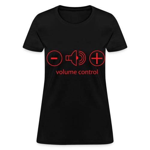 volume knobs  - Women's T-Shirt