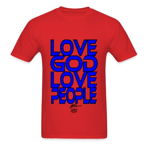 Love GOD Love People - Men's T-Shirt