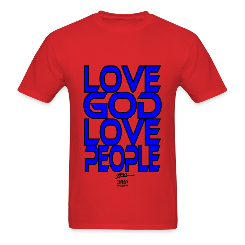 Love GOD Love People - Men's T-Shirt