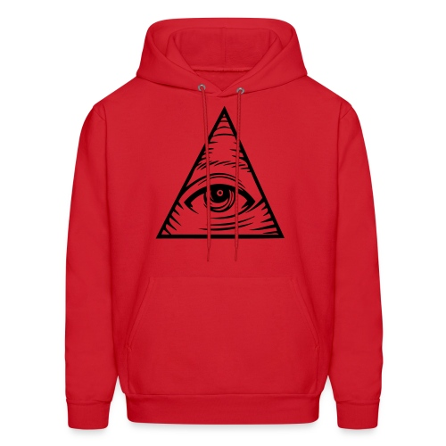 Illuminati Eye Hoodie - Men's Hoodie