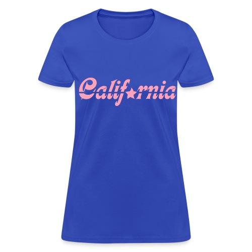 California Womens T-Shirt - Women's T-Shirt