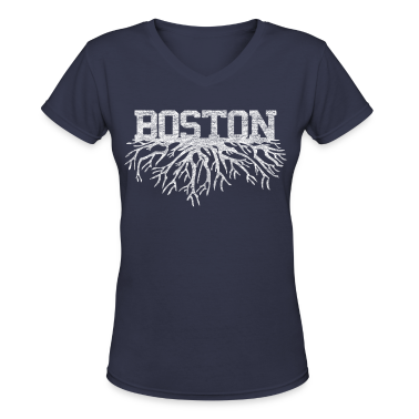 My Boston Roots Back to Beantown Women's T-Shirts