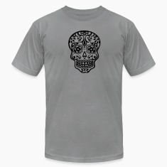 Mexican skull, floral pattern - Days of the Dead T-Shirts