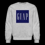 Long Sleeve Shirts ~ Men's Crewneck Sweatshirt ~ GUAP - Crewneck