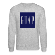Long Sleeve Shirts ~ Men's Crewneck Sweatshirt ~ GUAP - Crewneck