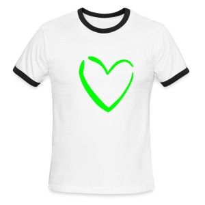Love'n Nature! 100% Cotton - Men's Ringer T-Shirt