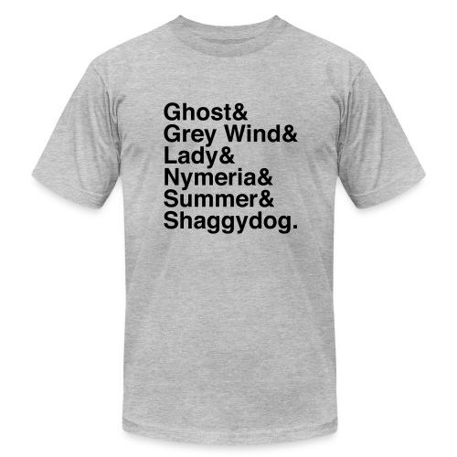 Direwolves (Dark Text) - Men's Fine Jersey T-Shirt